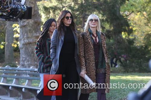 Ocean's Eight filming