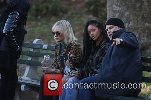 Rhianna, Cate Blanchett and Gary Ross