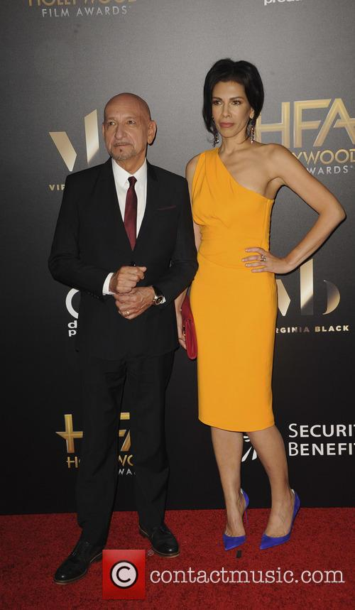 Sir Ben Kingsley and Daniela Lavende 1