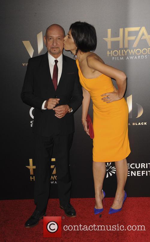 Sir Ben Kingsley and Daniela Lavende 2