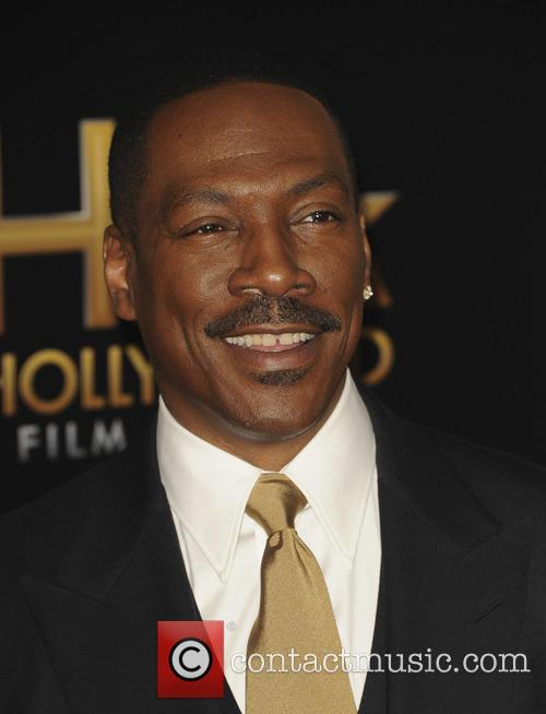 Eddie Murphy at the HFA Awards