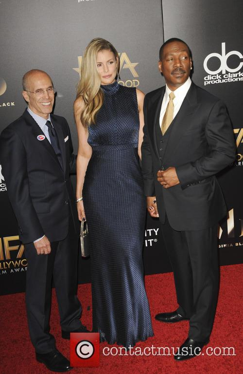 Jeffrey Katzenberg and Eddie Murphy 1