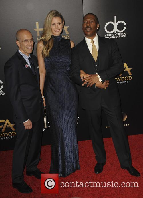Jeffrey Katzenberg and Eddie Murphy 2