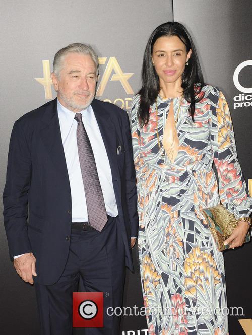 Robert De Niro and Drena De Niro