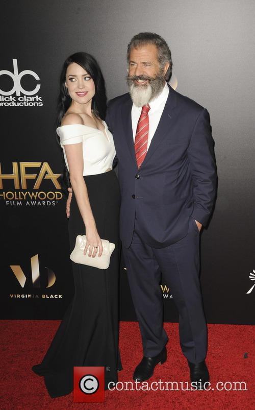 Rosalind Ross and Mel Gibson 1
