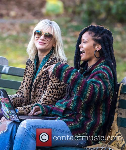 Rihanna and Cate Blanchett