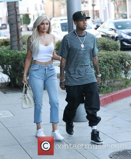 Kylie Jenner and Tyga 2