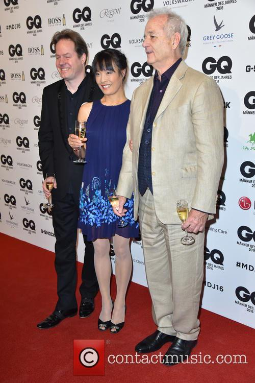 Jan Vogler, Mira Wang and Bill Murray 1