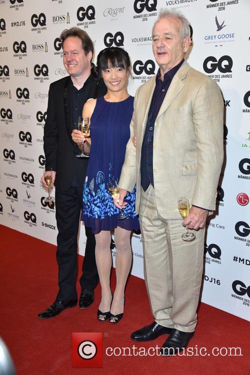 Jan Vogler, Mira Wang and Bill Murray 2