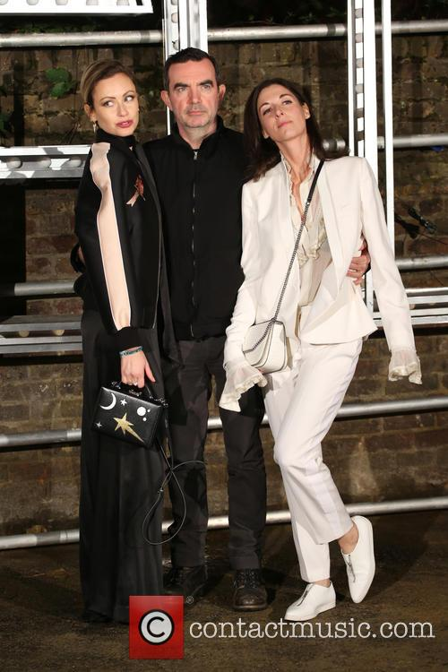 Mary Mccartney, Camilla Al-fayed and Simon Abound
