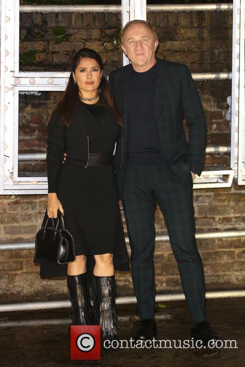 Salma Hayek and Francois-henri Pinault 4