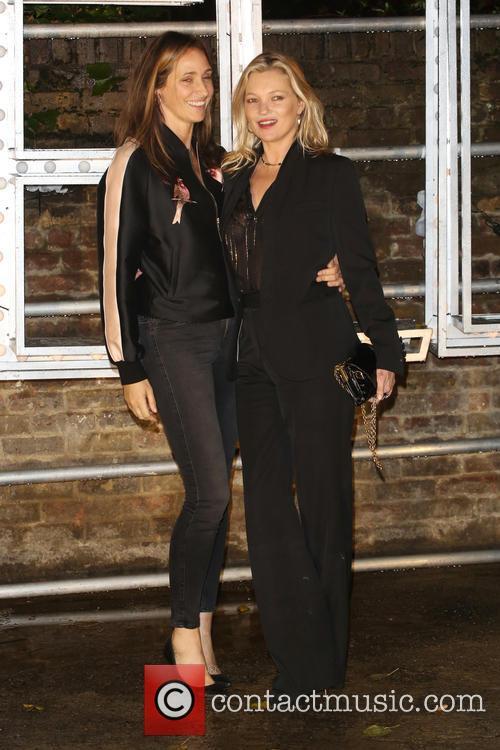 Rosemary Ferguson and Kate Moss 1