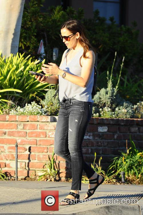 Jennifer Garner out and about with her daughter...