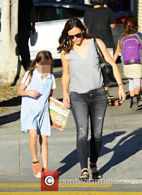Jennifer Garner and Seraphina Affleck 11