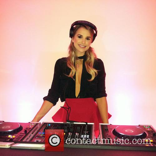 Vogue Williams at the Boux Avenue Party