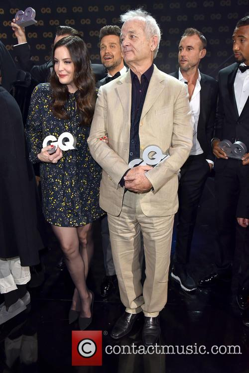 Bill Murray at GQ Men of the Year party