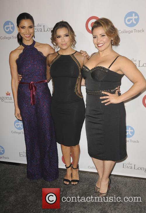 Roselyn Sanchez, Eva Longoria and Justina Machado 4