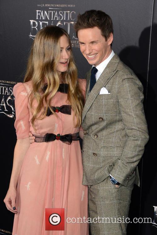 Hannah Bagshawe and Eddie Redmayne 1