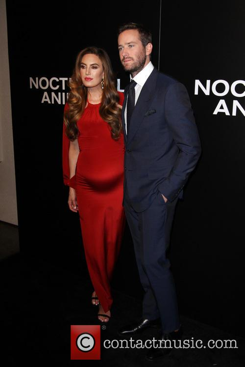 Armie Hammer and Wife Elizabeth Chambers 8