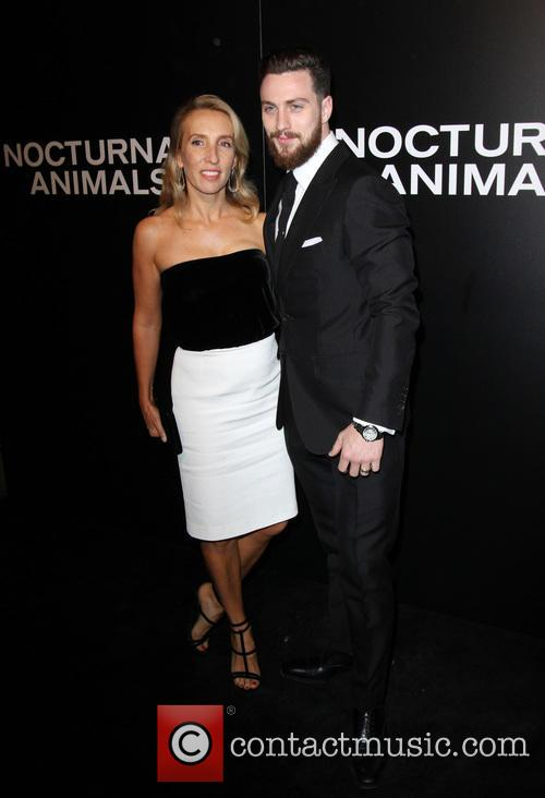 Aaron Taylor-johnson and Wife Sam Taylor-johnson 1