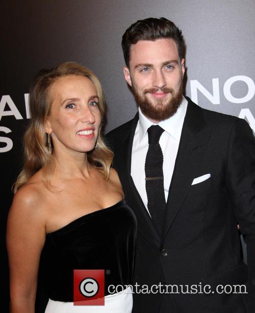 Aaron Taylor-johnson and Wife Sam Taylor-johnson 3
