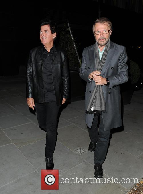 Simon Fuller and Björn Ulvaeus 4