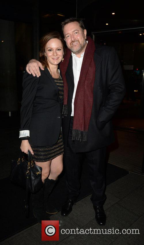 Guy Garvey and Rachael Stirling
