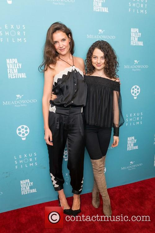 Katie Holmes and Stefania Owen 10