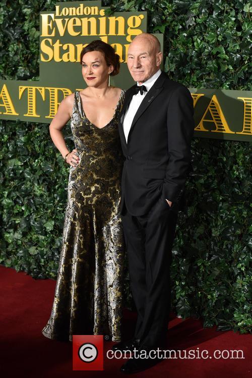 Sir Patrick Stewart and Lady Stewart 2