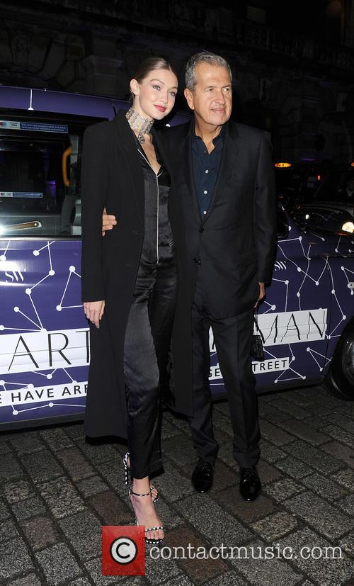 Gigi Hadid and Mario Testino 10