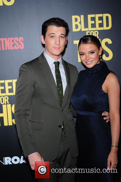 Miles Teller and Keleigh Sperry 7