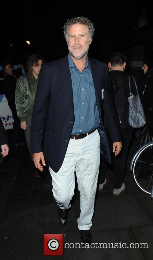 Will Ferrell arriving at the Chiltern Firehouse