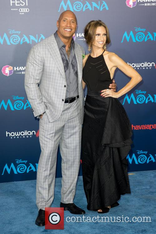 Dwayne Johnson and Lauren Hashian 4