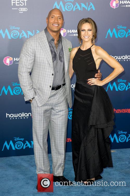 Dwayne Johnson and Lauren Hashian 5