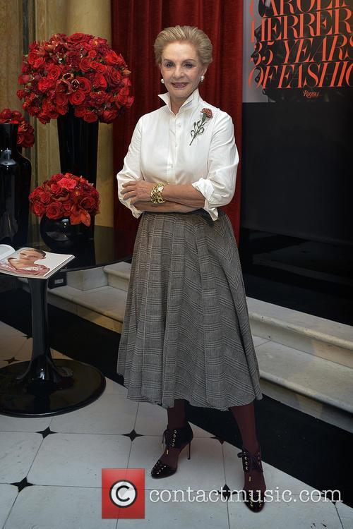 Carolina Herrera presents the book '35 Years of...