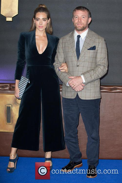 Guy Ritchie and Jacqui Ainsley 1