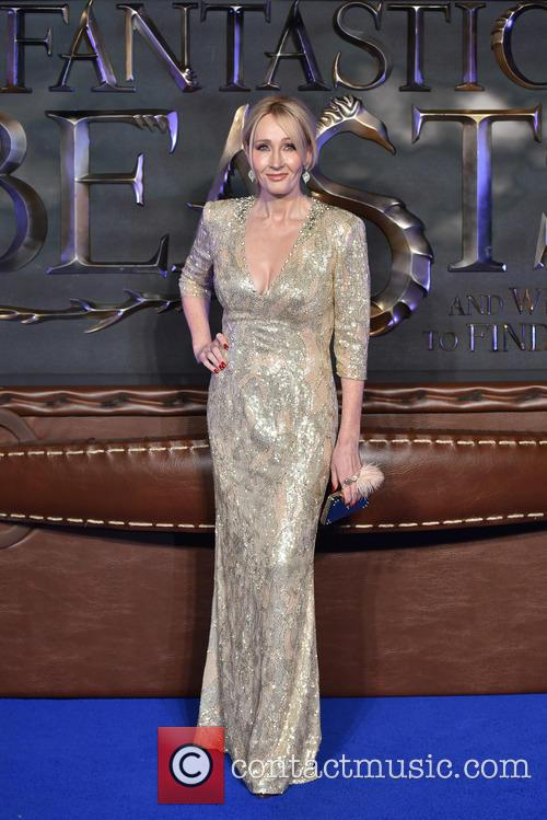 JK Rowling Attends The Fantastic Beasts And Where To Find Them Premiere