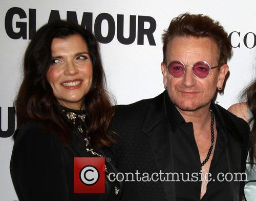 Bono and Wife Alison Hewson 3