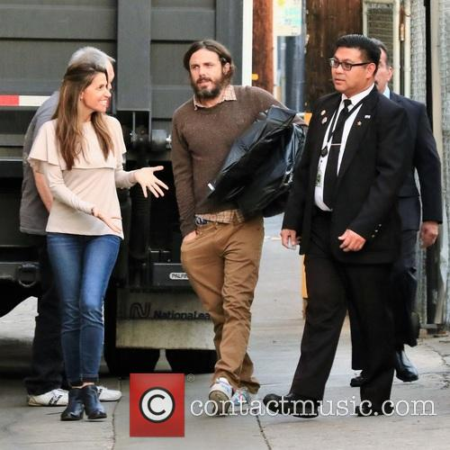 Casey Affleck arrives at the ABC studios for...