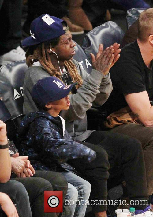 Lil Wayne and Son 2