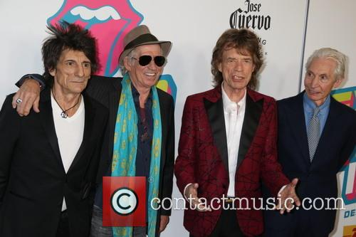Mick Jagger, Keith Richards, Ronnie Wood and Charlie Watts 2