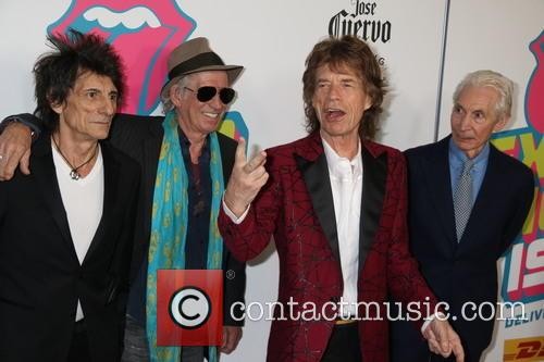 Mick Jagger, Keith Richards, Ronnie Wood and Charlie Watts 3