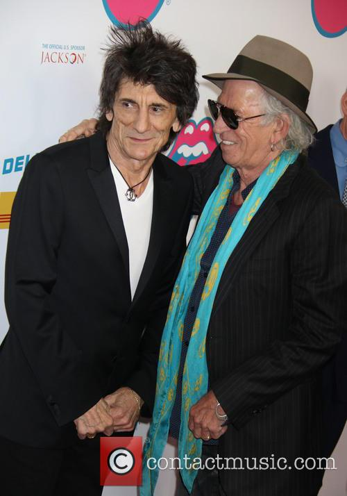 Ronnie Wood and Keith Richards 1