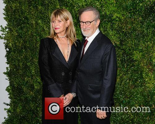 Kate Capshaw and Steven Spielberg 1