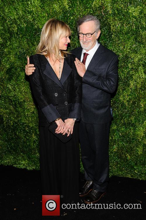 Kate Capshaw and Steven Spielberg 2