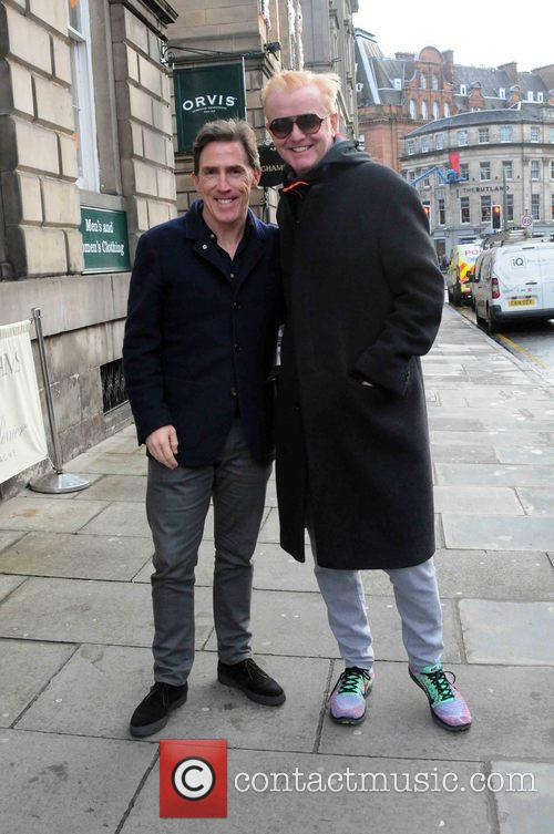 Chris Evans and Rob Brydon