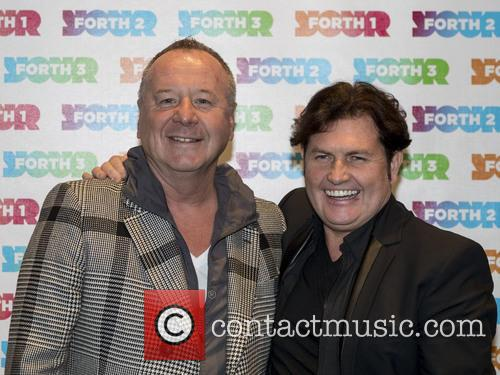 Jim Kerr, Charile Burchill and Simple Minds 1