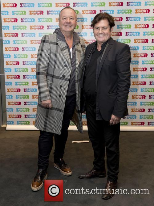 Jim Kerr, Charile Burchill and Simple Minds 3