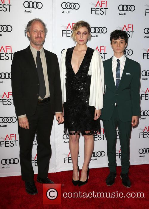 Mike Mills, Greta Gerwig and Lucas Jade Zumann 6