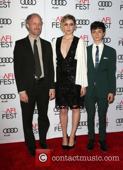 Mike Mills, Greta Gerwig and Lucas Jade Zumann 9